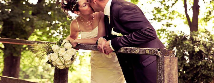 Beispiel: Romantische Hochzeitsfotos, Foto: Art 17.