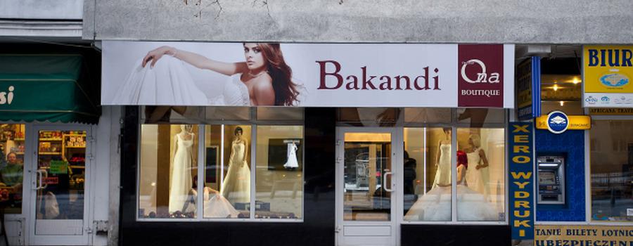 Bakandi, Salon sukien ślubnych