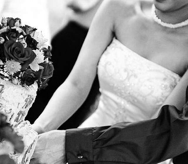 Beispiel: Perfekte Trauungszeremonie, Foto: Berlin und Hochzeit.