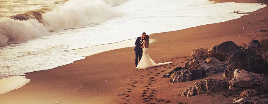 Just married fotografi