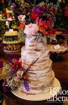 Semi Naked Cake Flores exóticas - por Betah Nahuz