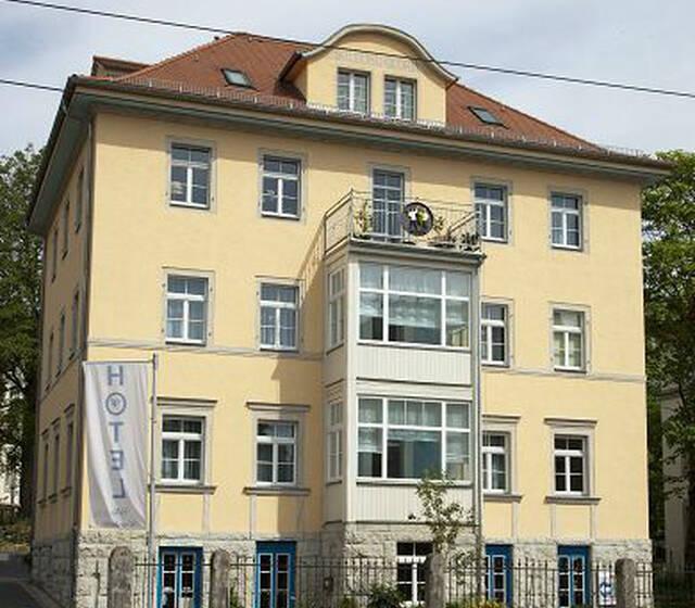 Beispiel: Außenansicht, Foto: Hotel Villa Loschwitz.