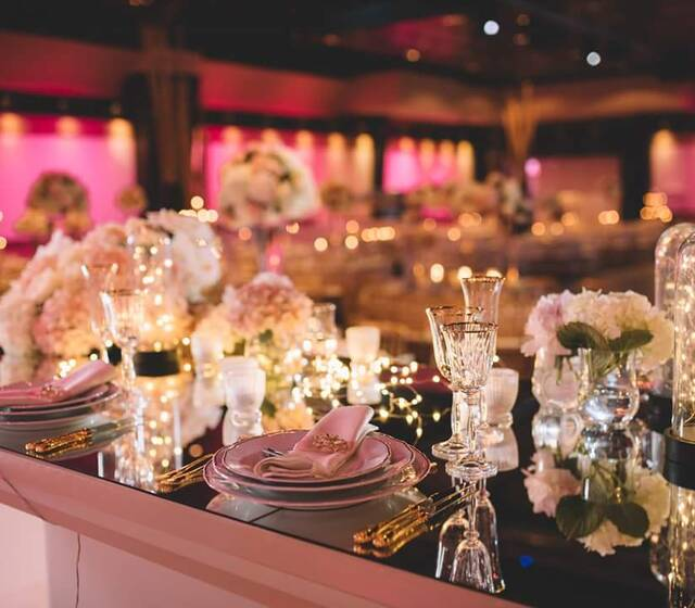 Royal Blush Wedding (crédit photo: Rijo Studio)