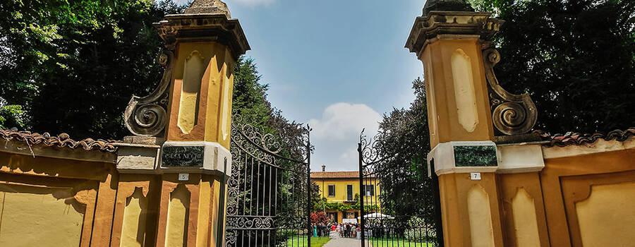 Ingresso Villa Negri