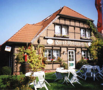 Beispiel: Außenansicht, Foto: Landhaus Schwerin.
