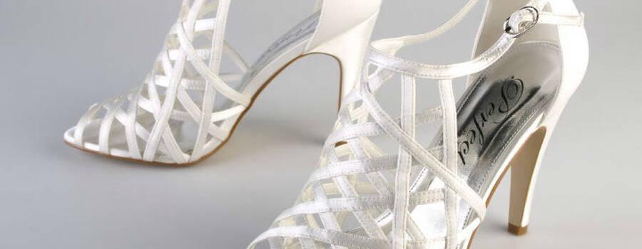 Beispiel: Schuhe die die Braut begeistern, Foto: Brandos.de.