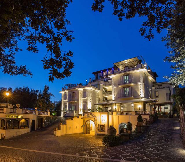 Hotel Castel Vecchio_Ingresso