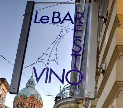 Beispiel: Schild, Foto: Le Barestovino.