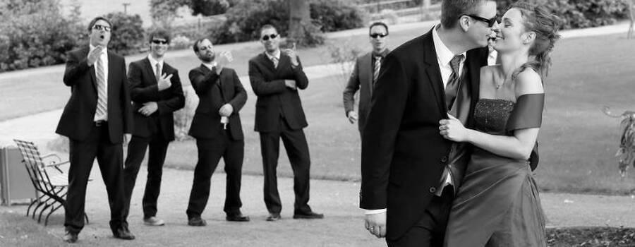 Hochzeitsbilder, Gruppenfoto