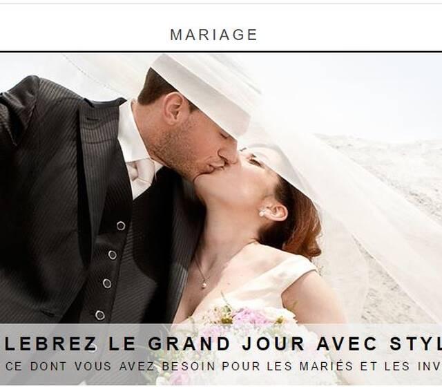 Zalando mariage