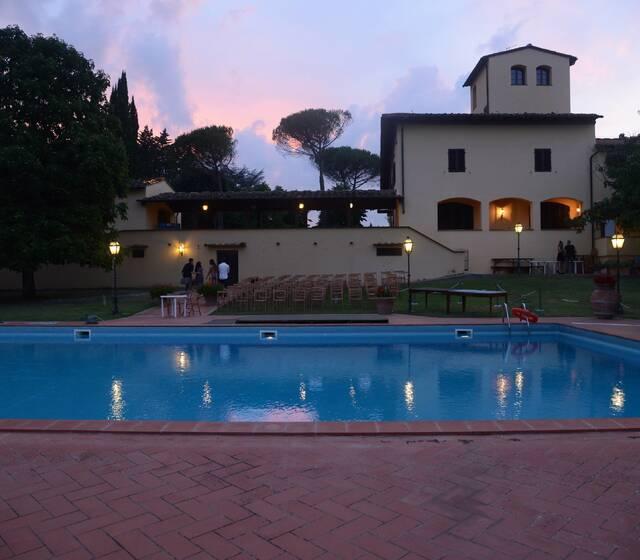 FATTORIA PAGNANA - Piscina Villa al tramonto