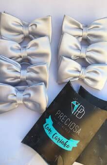 gravata borboleta padrinhos