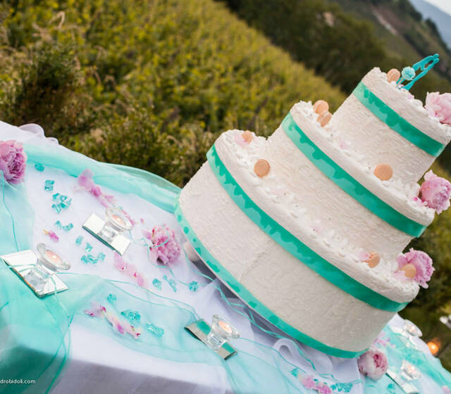 Allestimenti It's Wedding Time Tavolo della Torta