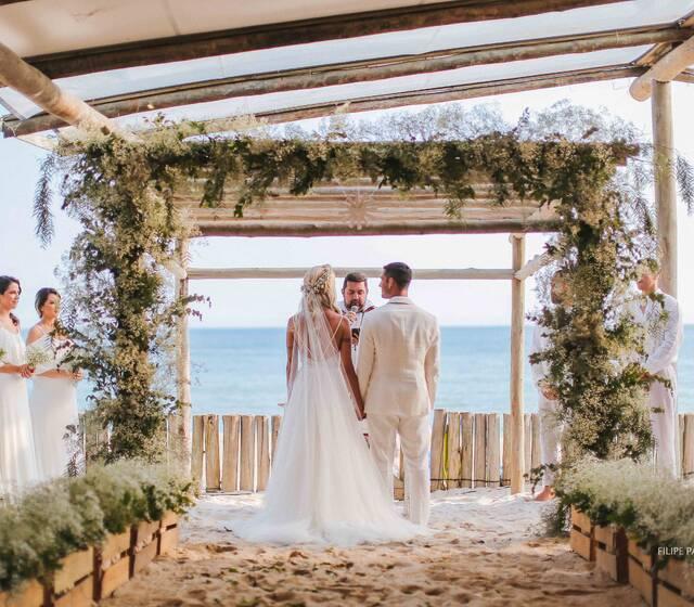Espaço Coberto para Cerimônia Frente ao Mar - Luai Cabanas