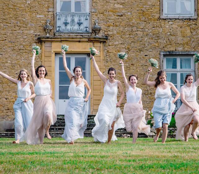 Amédézal® Mariage londonien, team bridesmaids