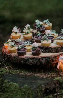 Minimuffins dekoriert
