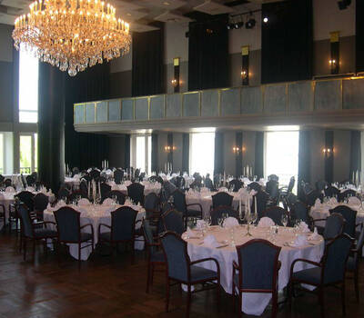 Beispiel: Festsaal - Bankett, Foto: Kieler Schloss.