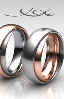 Trauringe xoé Ring im Ring