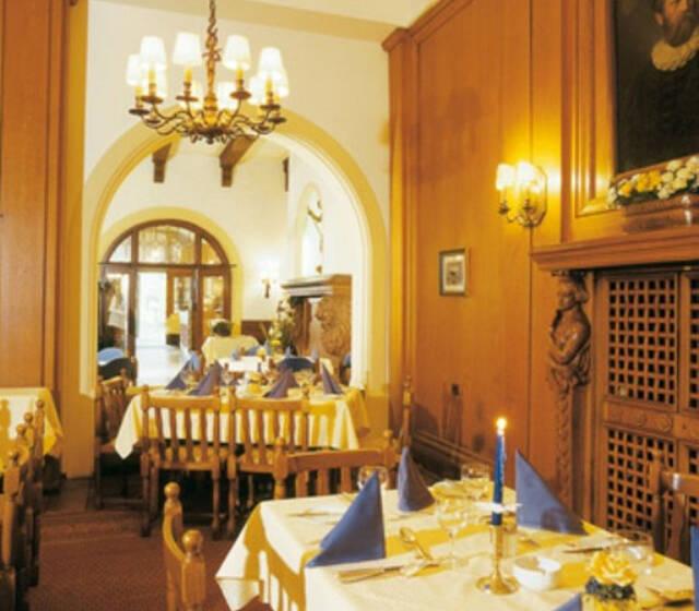 Beispiel: Restaurant Belier, Foto: Hotel Zum Ritter St. Georg.