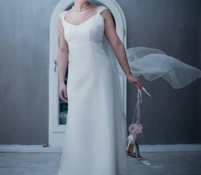Beispiel: Brautkleid, Foto: Honey & moon.