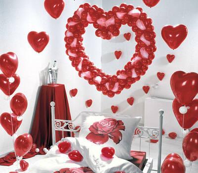 Beispiel: Ballons zur Hochzeit, Foto: Ballons & Ballons.