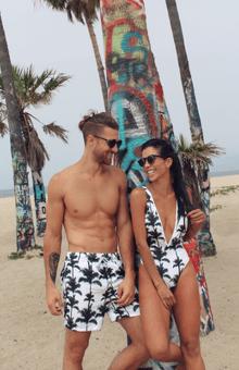 Towers Swimwear- vestidos de baño para parejas