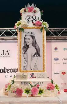 Miss Italia Story Cake