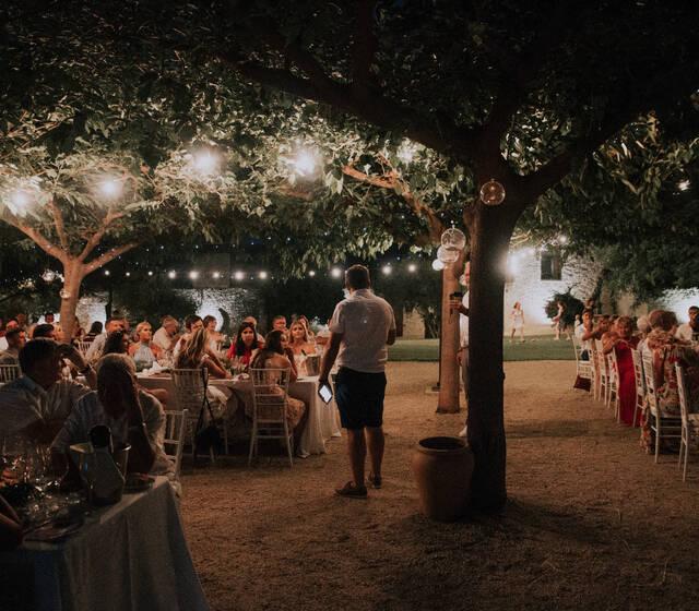 Banquete en las moreras