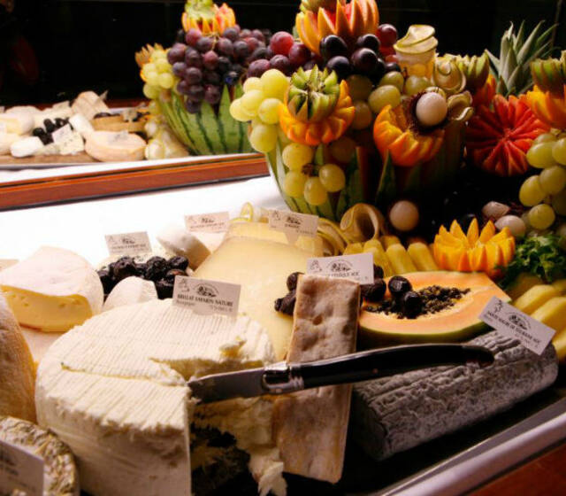 Beispiel: Das Highlight Ihres Hochzeitsessens, Foto: Das exklusive Buffet.