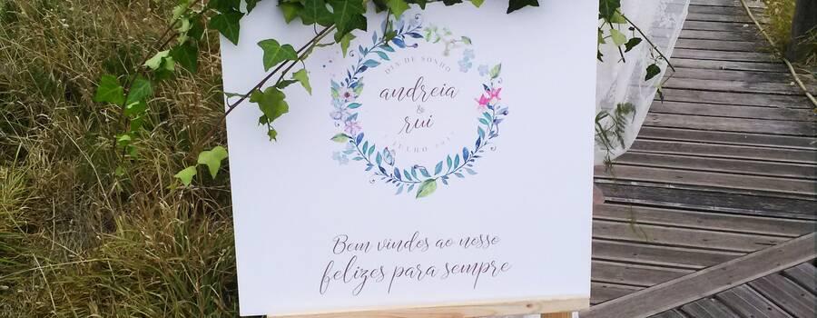 Casamento Andreia & Rui - Cavalete