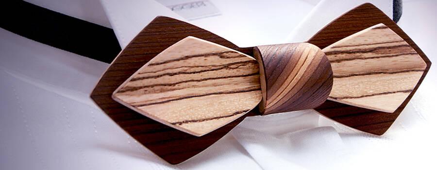© Mélissambre - Nœuds papillon en bois