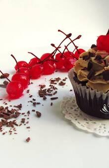 Cupcake de selva negra