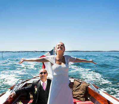Wedding planner bassin d'Arcachon Jarretiere in the Air