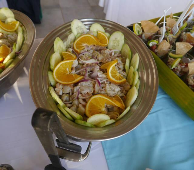 Alimentos frescos y deliciosos