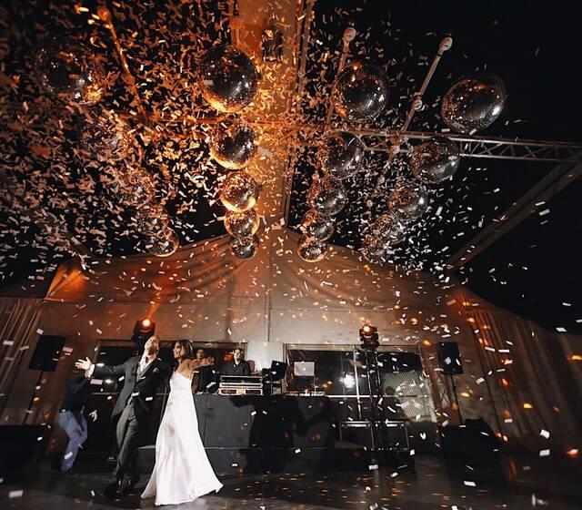 Explosion confeti