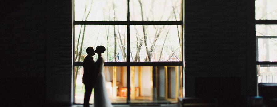 панорамные окна во двор