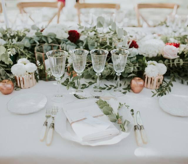 Déco de table - Wedding table decoration