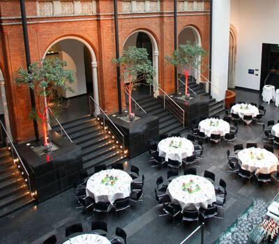 Beispiel: Restaurant - Bankett, Foto: Altes Rathaus Hannover.