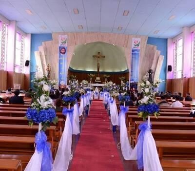 decoración de ceremonias religiosas