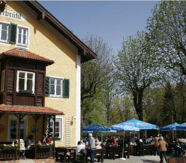 Beispiel: Außenansicht, Foto: Gasthof Hinterbrühl.