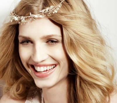Beispiel: Styling der Braut, Foto: JACKS Beauty Department.