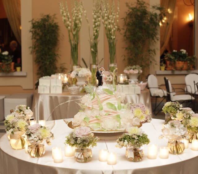 Villa Appiani_tavolo dei confetti Matrimonio Sara&Andrea