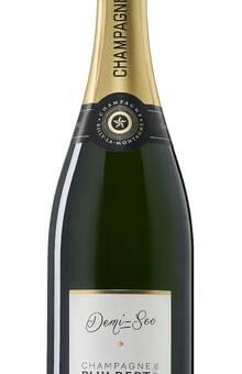 Champagne Demi-Sec (Très légèrement sucré pour accompagner vos desserts.
