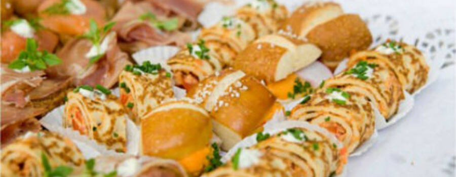 Beispiel: Fingerfood, Foto: Sinnesfreunde.