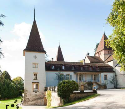 Beispiel: Ansicht, Foto: Schloss Münchenwiler.