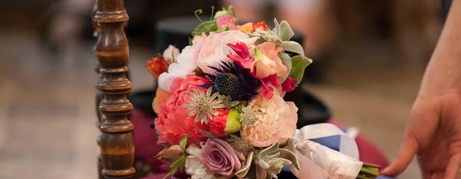 Debeaulieu - bouquet de mariée coloré