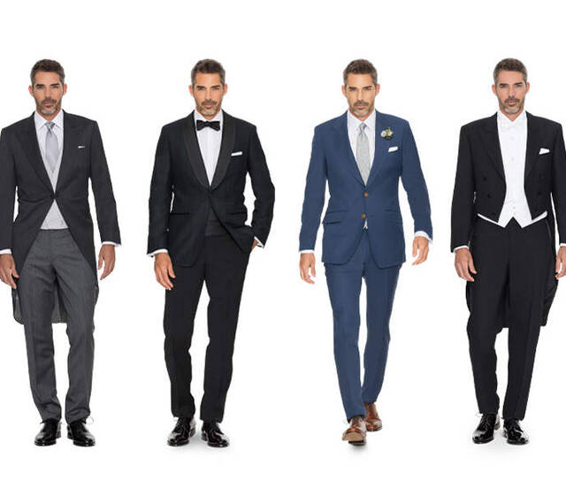 Hochzeits-Outfits