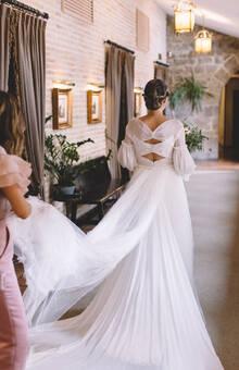 boda de Mer. Foto: Retrato de un instante