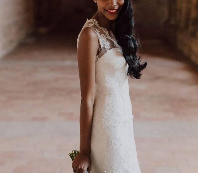 mariée glamour