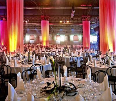 Beispiel: Hochzeitsgedeck, Foto: Event Island.